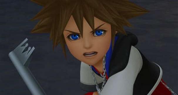 Kingdom Hearts 3D Dream Drop Distance Sora Screenshot