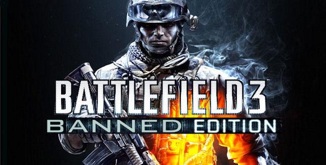 Battlefield 3: Banned Edition boxart