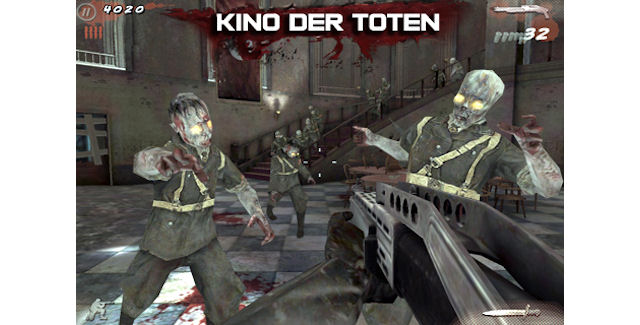 On Ios Call Of Duty Black Ops Zombies Infinity Blade 2