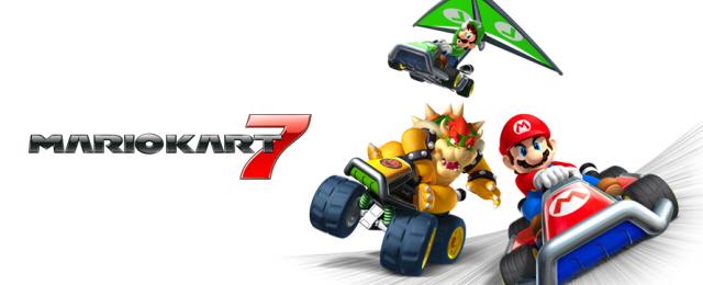 Mario Kart 7 Cheats Page Artwork