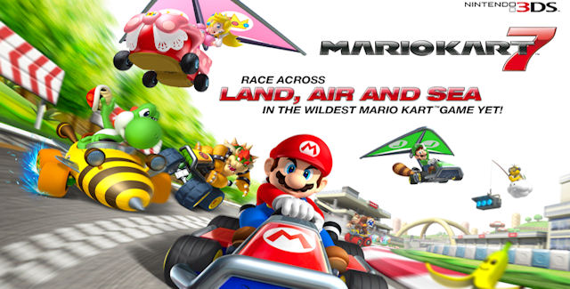 Mario Kart 7 Walkthrough Artwork