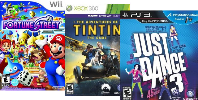 New Video Game Releases of Week 49 in 2011