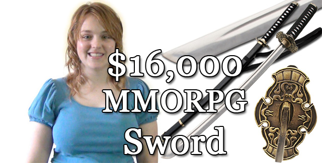 The $16,000 MMORPG Sword