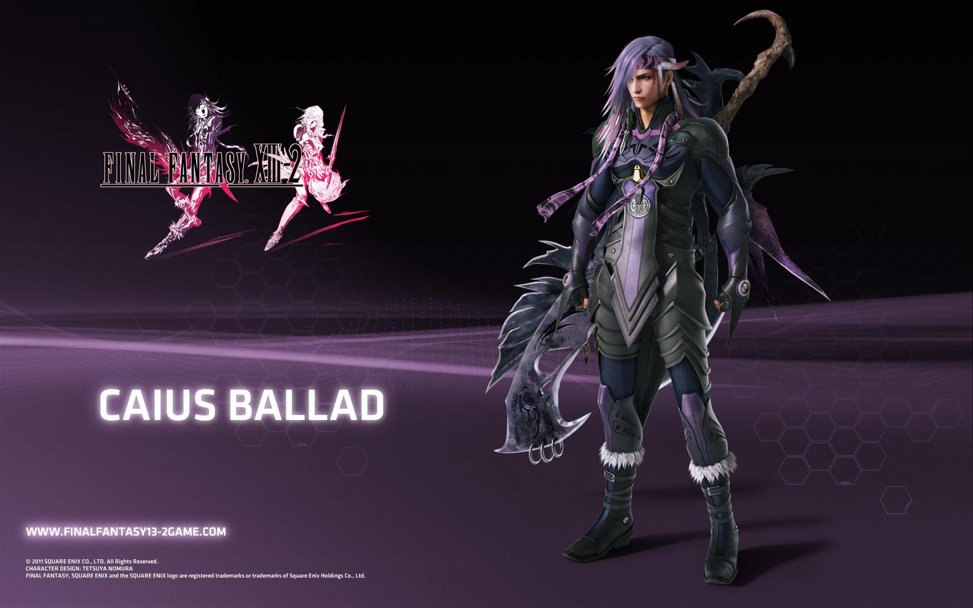 Final Fantasy 13 2 Wallpaper: Final Fantasy XIII-2 Caius Wallpaper
