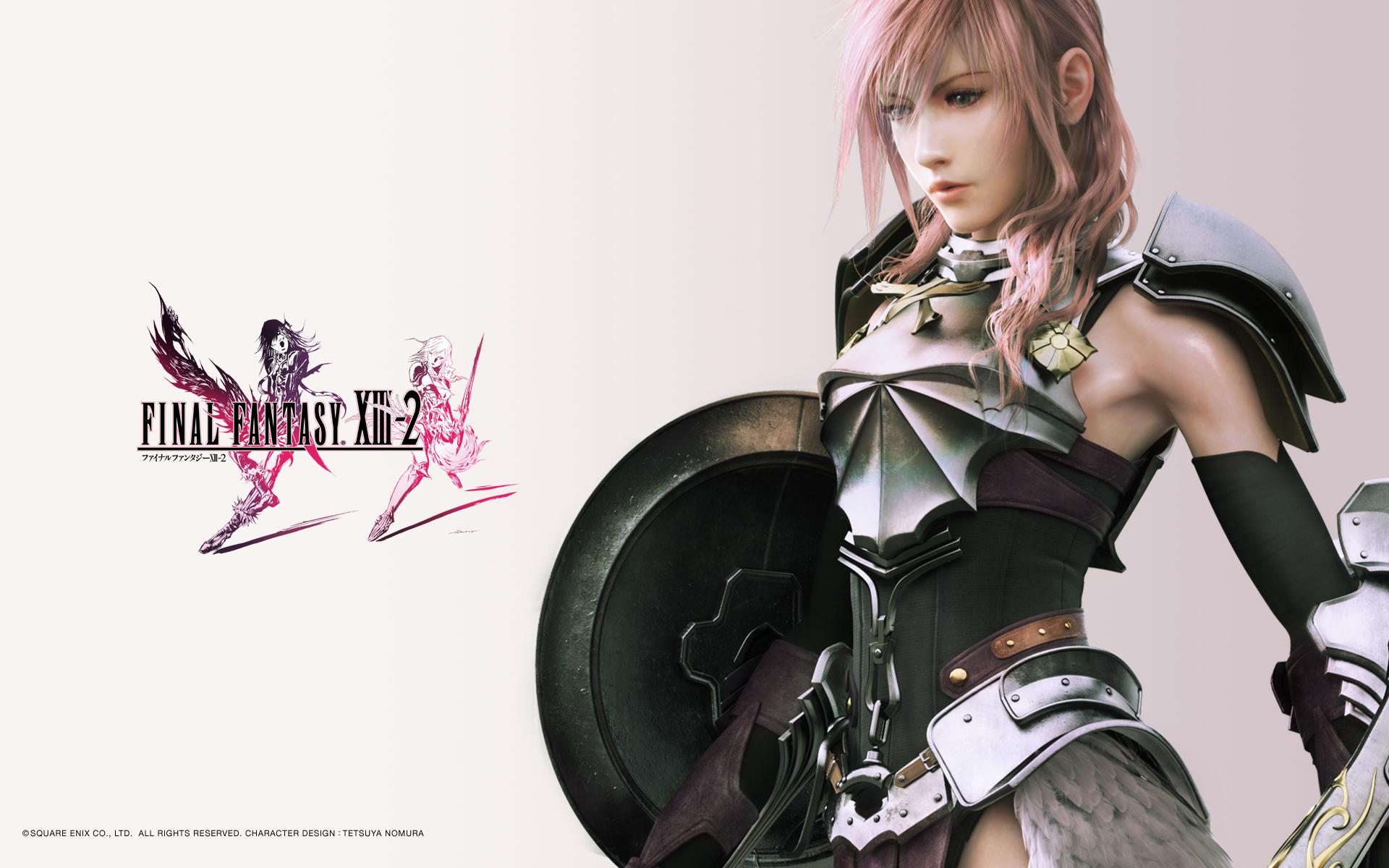Final Fantasy Xiii 2 Lightning Wallpaper