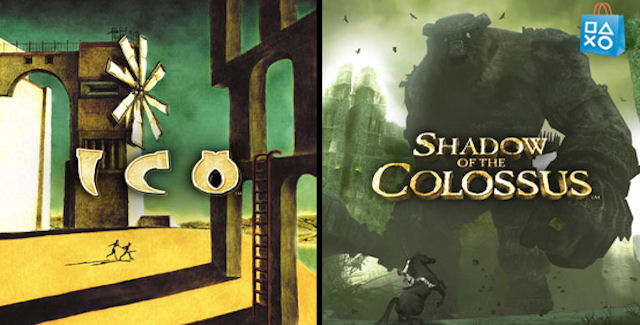 ICO & Shadow of the Colossus logos