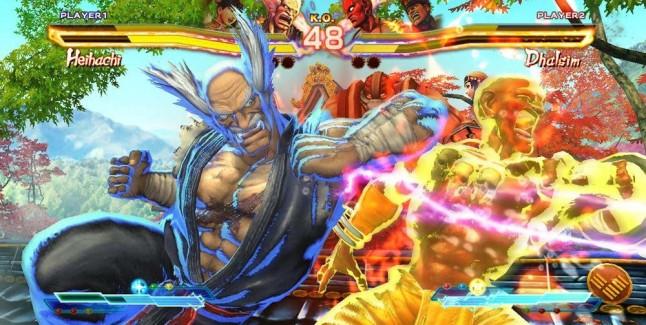 M. Bison & Xiaoyu in Street Fighter x Tekken screenshot