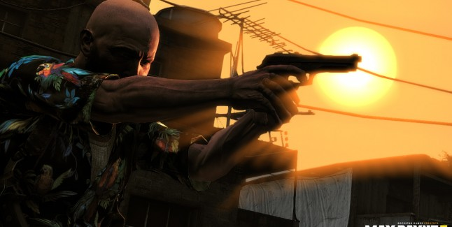Max Payne 3 cinematic screenshot