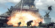 Modern Warfare 3 exploding Eiffel Tower screenshot
