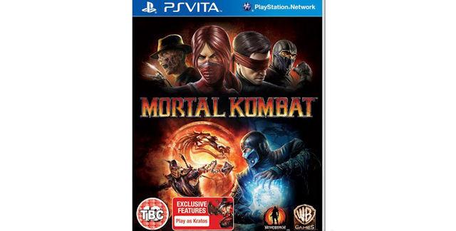 Mortal Kombat PS Vita boxart