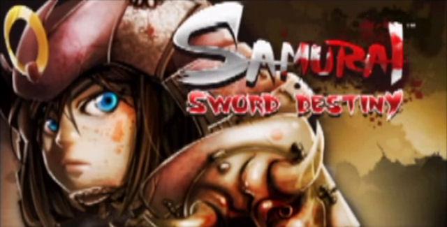 Samurai Sword Destiny title screen