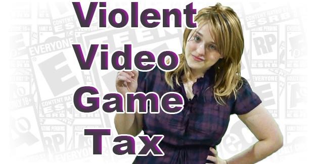 Violent Video Game Tax