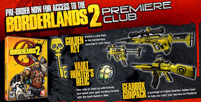 Borderlands 2 Release Date & Pre-Order Bonus Announced