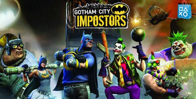 Gotham City Impostors Artwork