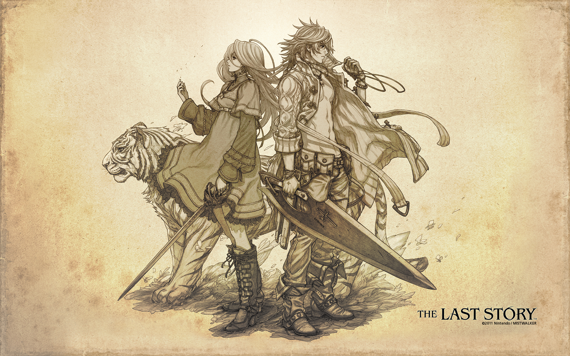 The last story calista wallpaper - The last story hd ...