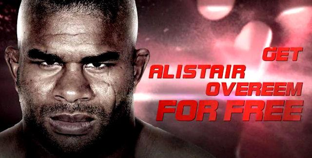 UFC Undisputed 3 Unlockable Character Alistair Overeem