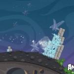 Angry Birds Space Ice Bird Screenshot