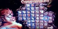 Street Fighter X Tekken Characters Select Screen