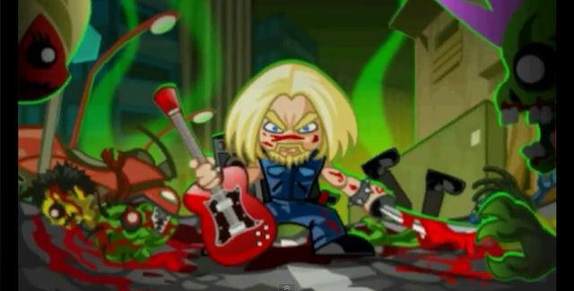 Zombie Slayer Diox artwork