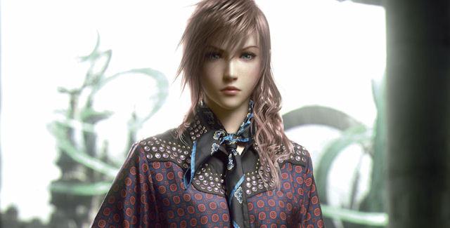 Final Fantasy XIII-2 Characters Wearing Prada