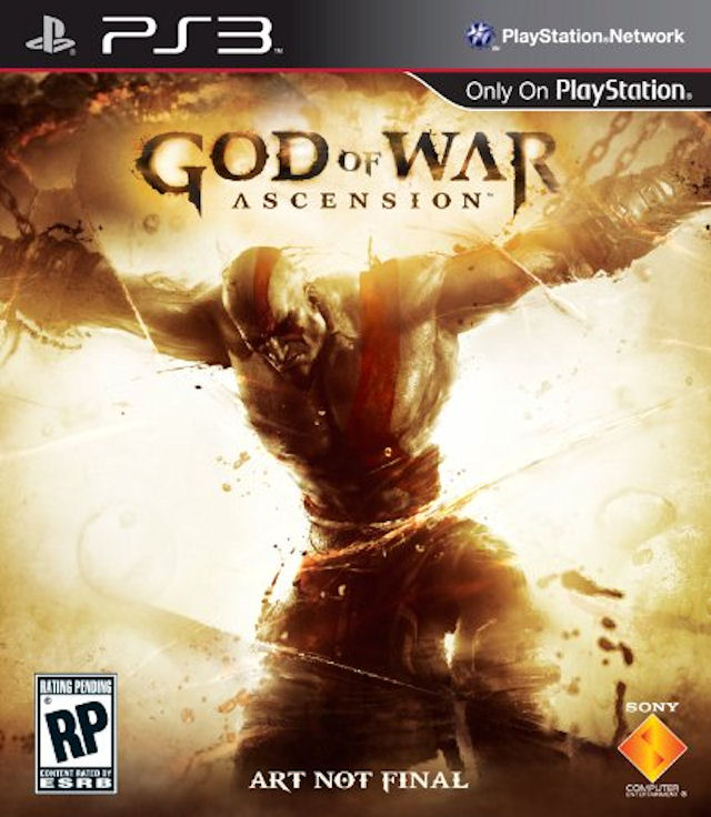 God of War: Ascension PS3 Boxart