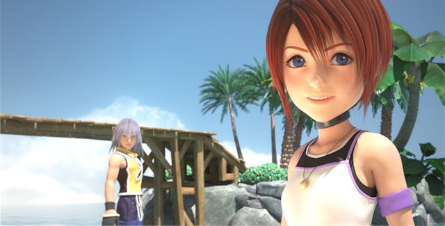 Kingdom Hearts 3D CGI Picture