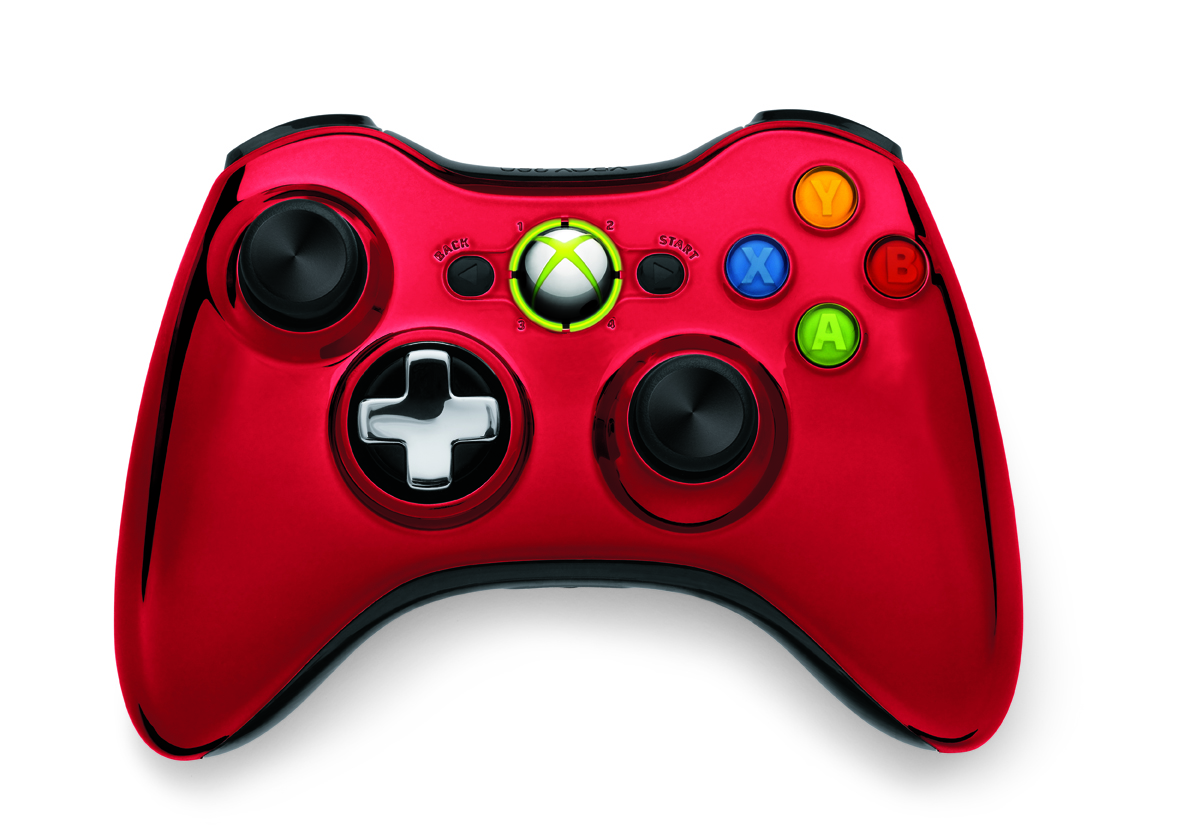 Xbox 360 Chrome Contro...