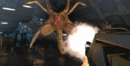 Aliens: Colonial Marines Facehugger attack screenshot