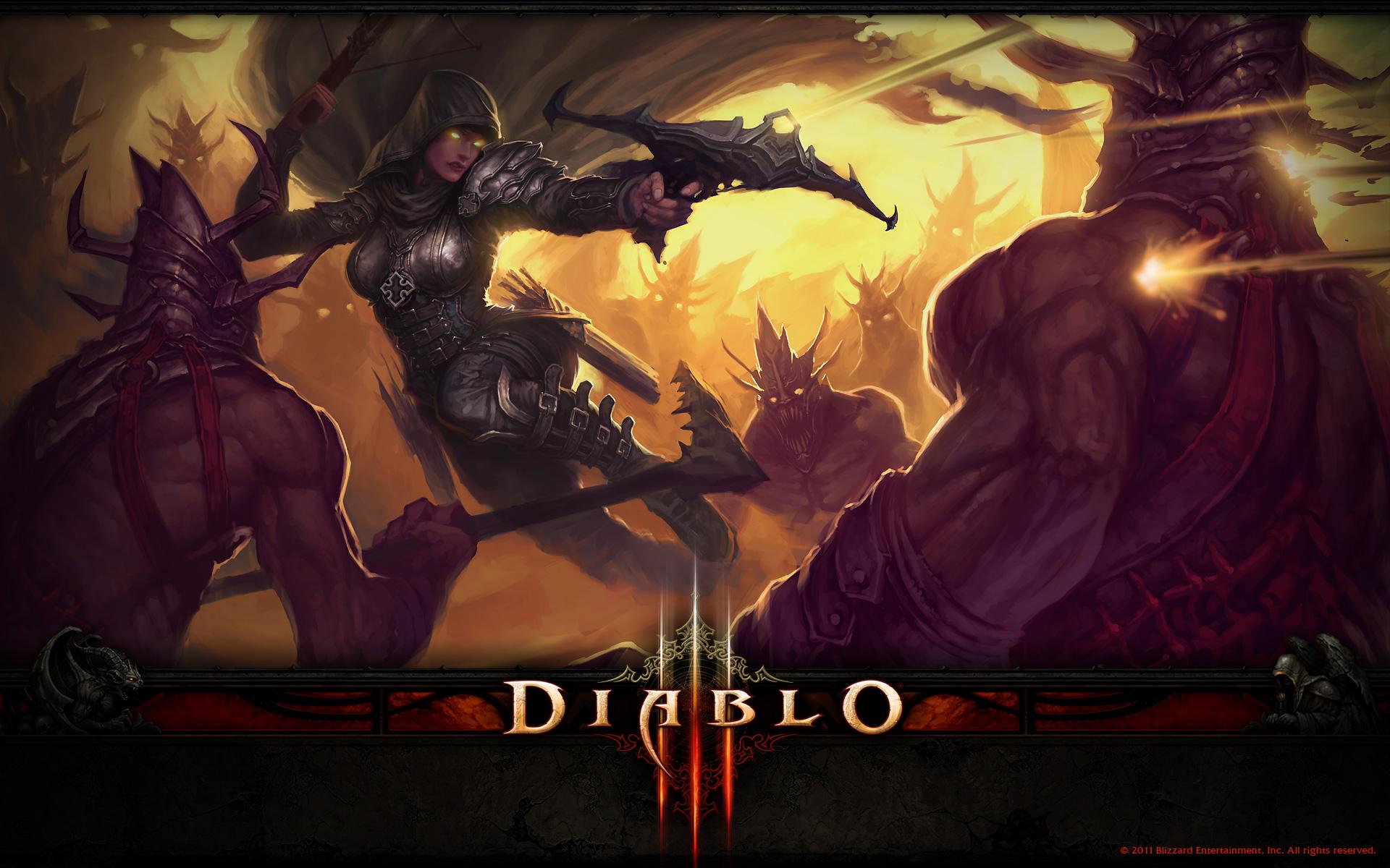 Diablo 3 The Demon Hunter Wallpaper