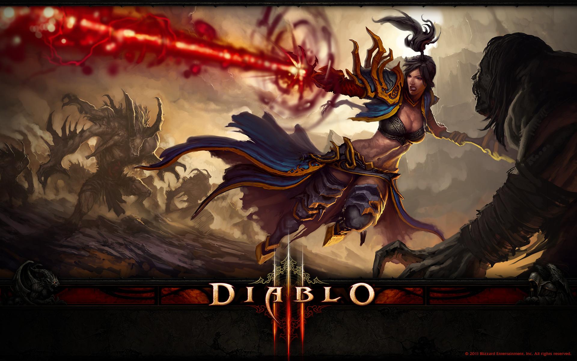 Diablo 3 The Wizard Wallpaper