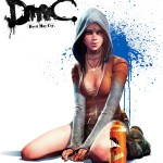 DmC: Devil May Cry Kat psychic character artwork