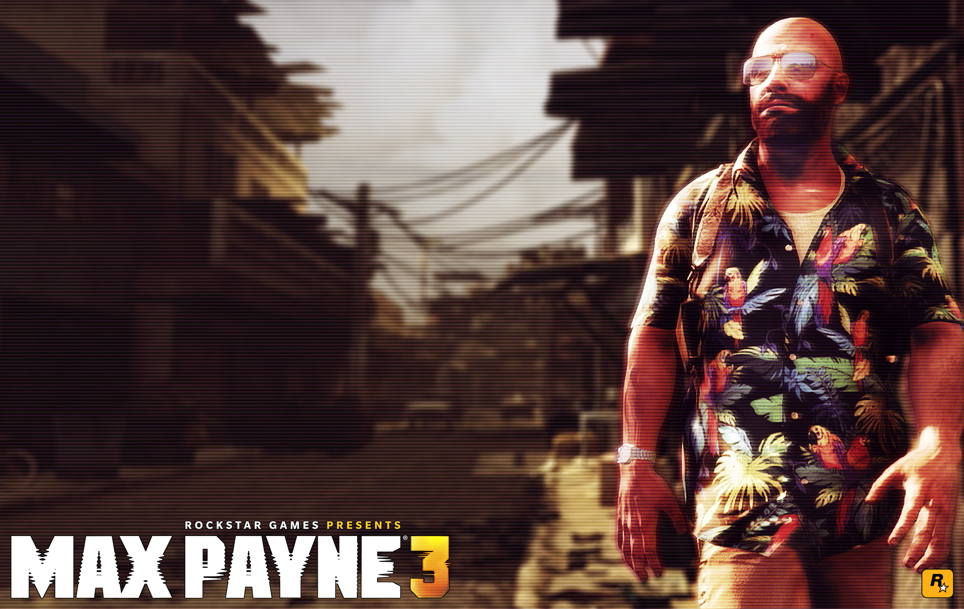 Max Payne 3 Best Shirt Ever Wallpaper