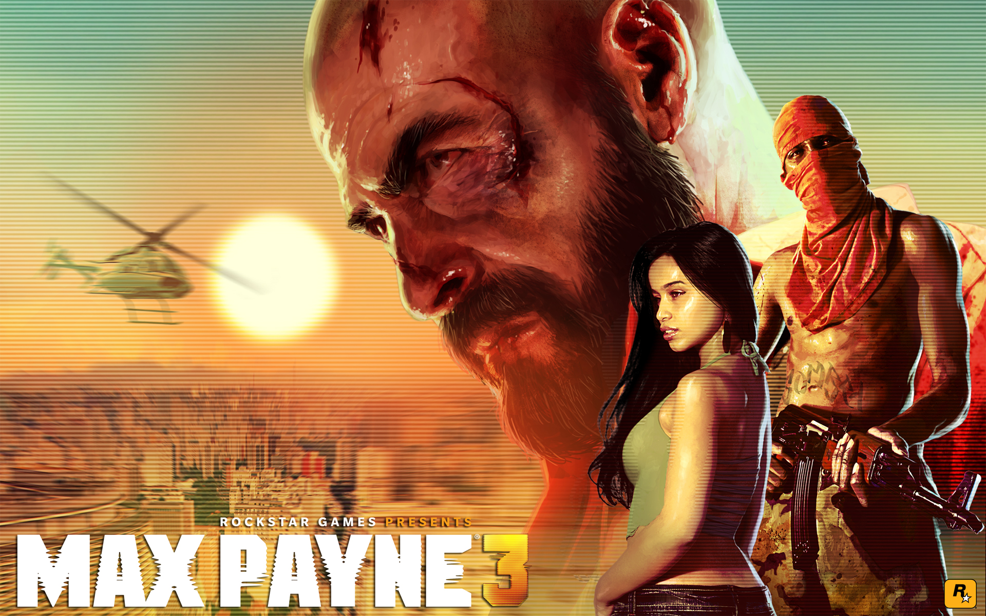 Max Payne 3 Max Bald Wallpaper