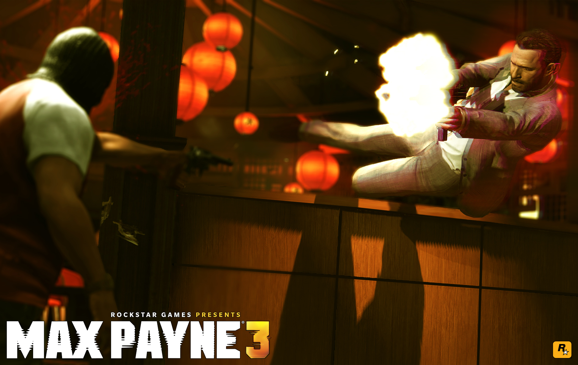 Max Payne 3 Shootout Wallpaper
