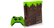 Minecraft themed custom Xbox 360 console
