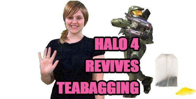 Halo 4 Revives Teabagging