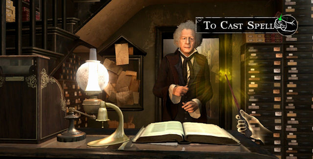 Harry Potter for Kinect Video Game Screenshot