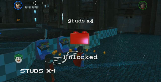 Lego batman 2 dc super heroes walkthrough part 2 arkham asylum.