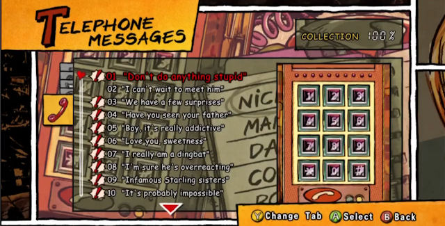 Lollipop Chainsaw Telephone Messages