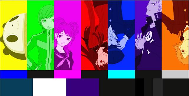Persona 4 Golden artwork