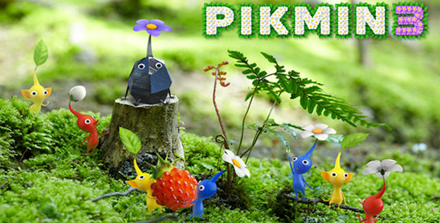 Pikmin 3 Announced For Wii U