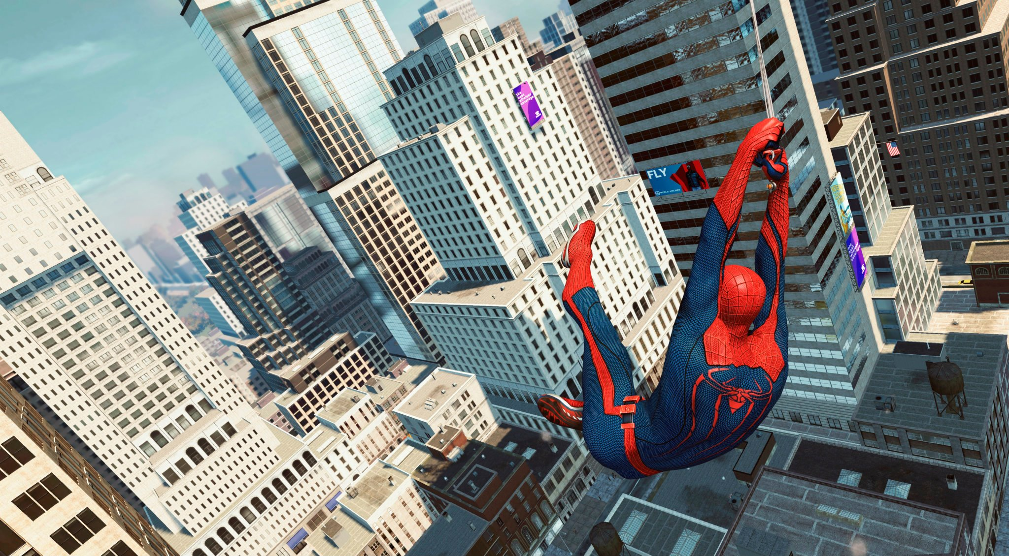 The Amazing Spider Man 2012 City Wallpaper