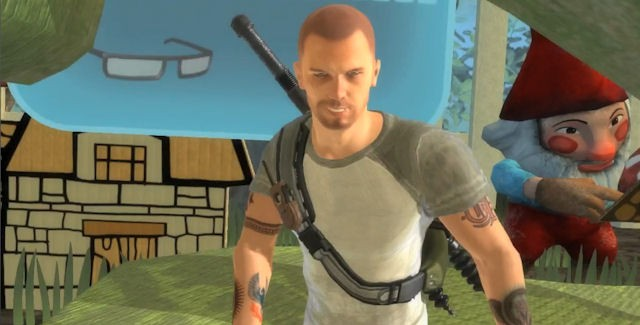 Cole MacGrath in PlayStation All-Stars Battle Royale
