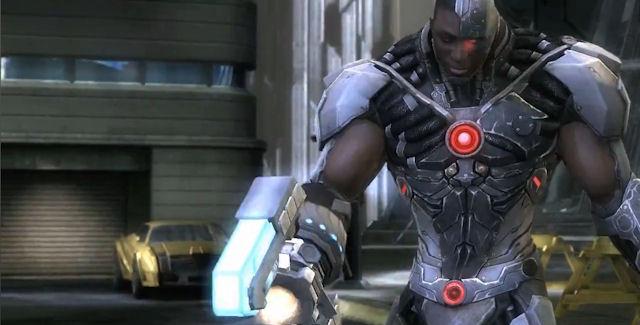 Cyborg joins Injustice Gods Among Us