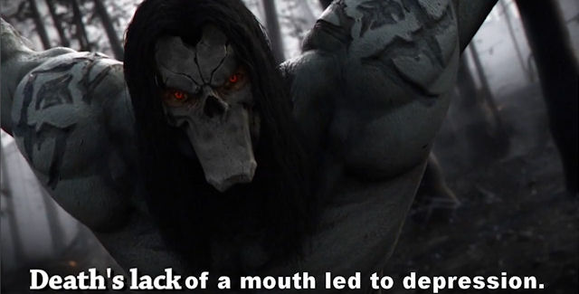 Death in Darksiders 2 screencap