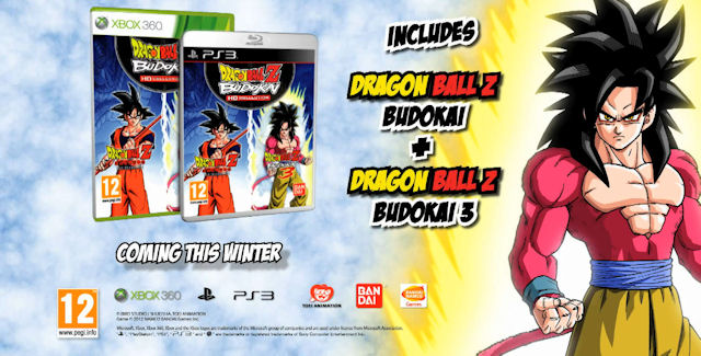 Dragon Ball Z Budokai HD Collection boxart