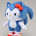 Hello Kitty Sonic the Hedgehog Plushy Toy