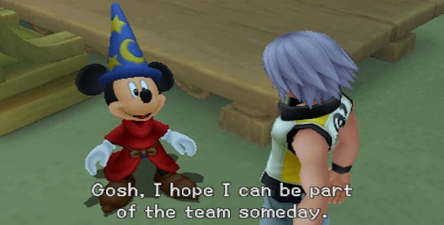 Kingdom Hearts 3D Secret Ending