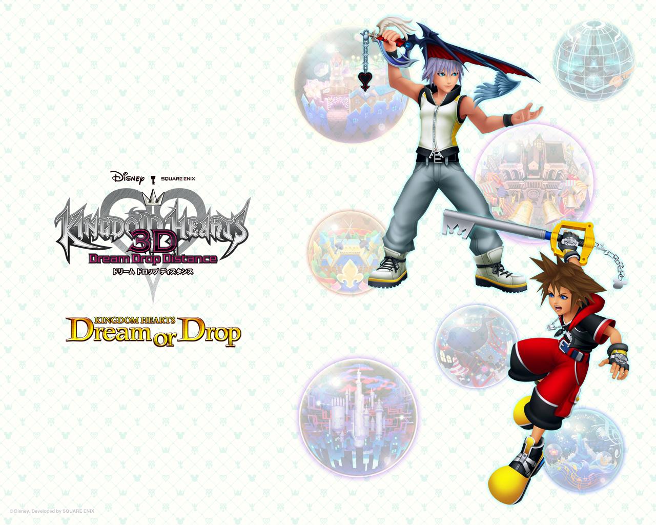 Kingdom Hearts 3d Wallpaper 5