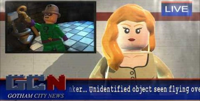 Lego Batman 2 news report by Vicki Vale